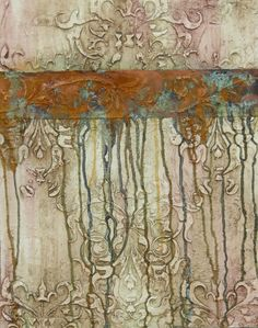 Sample finish by artist Chris Brandley using plasters and Metal Effects products.