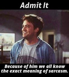 Yes coz of mr chanadler bong♡.I can never get enough of his coz of mr chanadler bong♡. Friends Funny Moments, Friends Cast, Friends Episodes, Friends Series, I Love My Friends, Friends Tv Show, Chandler Friends, Friends Tv Quotes, Awkward Moments
