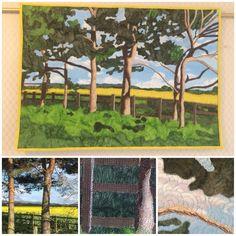 Custom Made Quilts Rapeseed Field, Fields, Ann, Quilts, Painting, Design, Quilt Sets, Painting Art, Quilt