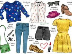 Taylor Swift has one of the most popular celebrity street styles, with many websites dedicated exclusively to her fashion choices. Her style is very cute and girly, easy to wear and always has a bit of a retro vibe. In this week's illustrated how-to, I've put together some typical Taylor Swift items. Have a look if you want to steal a little bit of her cute style. See you next week!