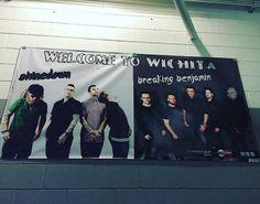 The tour starts TODAY!! Wichita KS tonight Shinedown at Intrust...
