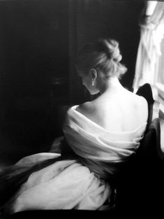 Lillian Bassman - Margie Cato, Test Shoot, New York | From a unique collection of photography at http://www.1stdibs.com/art/photography/
