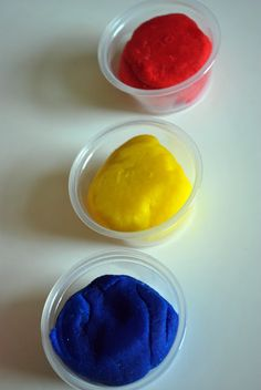 Just Another Day in Paradise: Superman Party: Play Dough Recipe [A homemade play-dough recipe - MO]