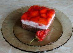 Jahodové kocky - Recepty, Torty od mamy.sk Tiramisu, Cake Recipes, Cheesecake, Food And Drink, Ethnic Recipes, Cakes, Nova, Easy Cake Recipes, Cake Makers