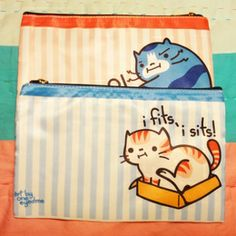 Cute Kitty Zipper Pouch on the redditgifts Marketplace