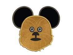 Star wars machine embroidery design  Mickey by MyMemoryDesign