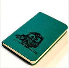 Notebook with owly