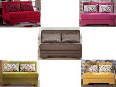 Modern Twist Loveseat Full Size Futon Sofa Bed Sleeper Furniture S