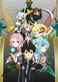 Sword Art Online, official art
