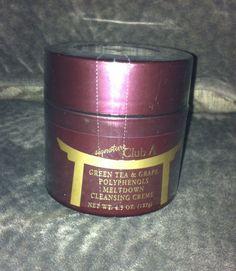 SIGNATURE CLUB A Green Tea & Grape Polyphenols Meltdown Facial Cleansing Creme