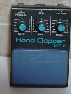 Boss HC 2 Hand Clapper Guitar Effects Pedal Great Shape | eBay