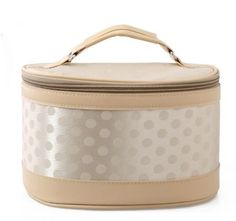 Itemship- Fashion Cute Polka Dot Portable female cosmetic bag Storage bag L (Champagne) by Itemship, http://www.amazon.ca/dp/B00GGEVC6A/ref=cm_sw_r_pi_dp_wEpEsb169S5XR