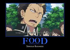 Blue Exorcist ~~ Bon is right. Grudges about food can last for a VERY long time!