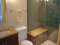 Bathroom Renovations On A Budget | Remodeled Bathrooms Plans on a Budget with towel hanger