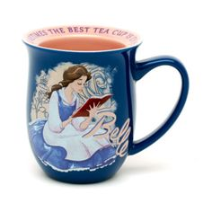 Disney Beauty and the Beast Belle reading mug