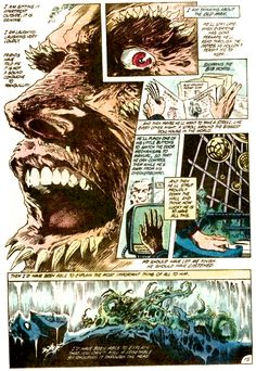 The Anatomy Lesson, Swamp Thing #21 (1983) by Stephen Bissette John Totleben