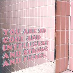 As we prepare for this new week, remember this! Tag a friend to share the love 💗💗  Pretty Words, Cool Words, Positive Vibes, Positive Quotes, Mirror Quotes, Statements, Happy Thoughts, Pink Aesthetic, Positive Affirmations