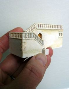 A most fascinting website showing just how these minature buildings and all their accoutrements are made
