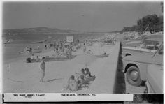The Beach at Dromana Melbourne Victoria, Victoria Australia, Beach Photos, Old Photos, Local History, Back In The Day, Historical Photos, Photo Galleries, Past