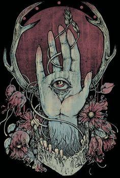 ☯☮ॐ American Hippie Psychedelic Art Eyes