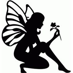 free fairy silhouette - Google zoeken