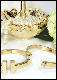 Fabulous gold plated fashion jewelry by Benique