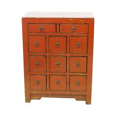 Chest of Drawers Red design inspiration on Fab.