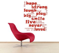 Have hope, be strong.. Design 3