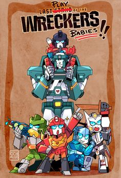 Wrecker Babies by Coralus. AHH so cute!