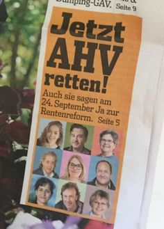 #av2020 #altersvorsorge2020 #september #work #gewerschaft September, Cover, Books, Politics, Libros, Book, Book Illustrations, Libri