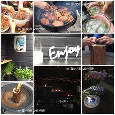 Our great summer-BBQ-2013-party  (no sushi this time☺). https://www.facebook.com/crea.sushiworkshops?ref=hl