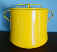 Vintage Large Yellow Dansk Kobenstyle by thevintagesupplyco