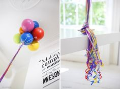 Permanent Helium Balloons & Jenga Blocks Holding Up Your Office Desk | Jeannie Huang