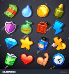 resources game icons - Google Search