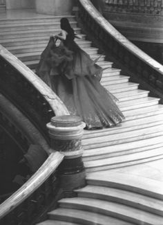 Up the grand staircase