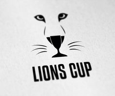 This is a clean lion logo with a cup hidden in it. It is suitable for any sports/games.