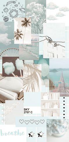 Cute Blue Wallpaper, Whats Wallpaper, Iphone Wallpaper Themes, Phone Wallpaper Images, Summer Wallpaper, Iphone Wallpaper Tumblr Aesthetic, Cute Patterns Wallpaper, Iphone Background Wallpaper, Aesthetic Pastel Wallpaper