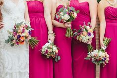 haley tobias blog: Peach and Plum Wedding