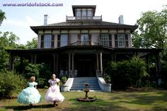 Eufaula, Alabama-- Fendall Hall Southern Suburban Mansion, 1860