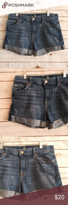 Clothing, Shoes, Accessories Women's Clothing Buffalo David Bitton White Denim Cut-off Shorts Size 31