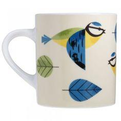 Magpie Blue Tit Birdy Mug