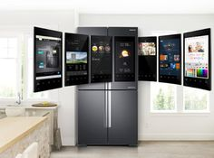 Samsung electronics extended their interest of expanding the voice recognition function of the family hub refrigerator to European co...