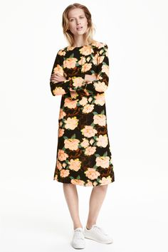 Креповое платье | H&M