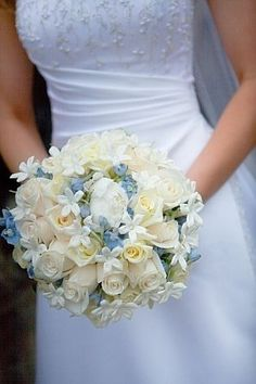 Blue wedding flowers for May | Flowers, Blue