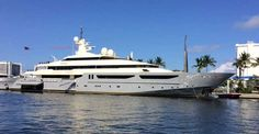 Mega Yacht for Fire Retardant by Interior Technology Services