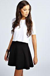 Roseanna Colour Pop Skater Skirt