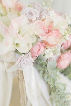 Pastel Flower Bouquet | photography by http://www.elisabethmillay.com/