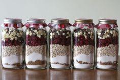 Christmas Cookies in a Jar || recipe