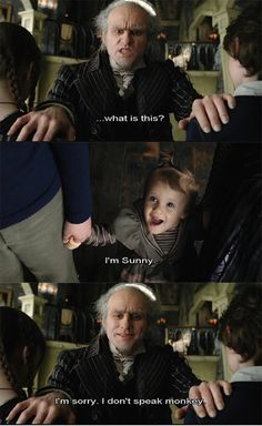 Lemony Snicket's A Series of Unfortunate Events. These books are so darn sad it makes me want to puke.