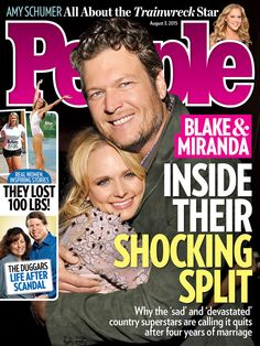 ON NEWSSTANDS 07/24/15: Inside Blake and Miranda's Divorce: What Went Wrong?